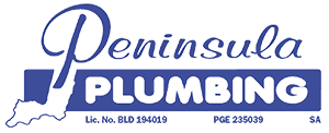PENINSULA PLUMBING logo with PGE number2